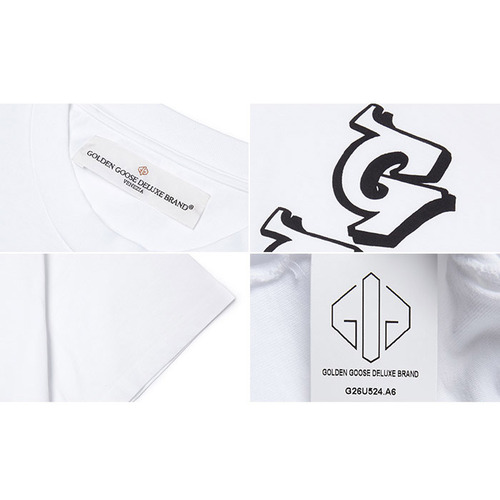 [골든구스] T-SHIRT GOLDEN G26U524.A6