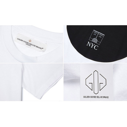 [골든구스] T-SHIRT GOLDEN G26U524.B7