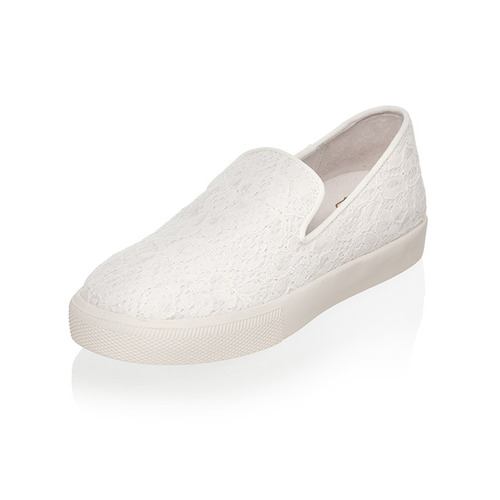 [ASH] ILLUSION SLIP-ON 305169-WHITE