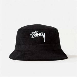 [스투시] STOCK TERRY BUCKET HAT 132727-BLK